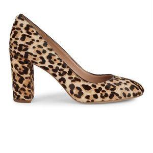 Sam Edelman Leopard Print Stilson Heels
